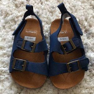 Carter's Cork Sandals 6-9 months